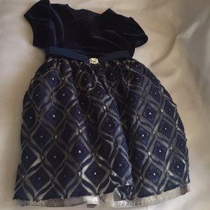 JAYNE COPELAND® Little Girl  2t Blue Dress